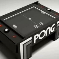 Íme a kézzelfogható Pong játékasztal