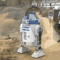 Egy repülő R2-D2 tette tiszteletét az idei Comic-Con-on