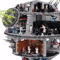 Káprázatos videóban épül fel a LEGO Halálcsillag