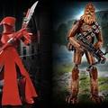 LEGO Star Wars megépíthető figurák   Chewbacca és Elit Testőr