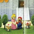 Magával ragadó illusztrációk a Super Mario 64 japán útmutatójából