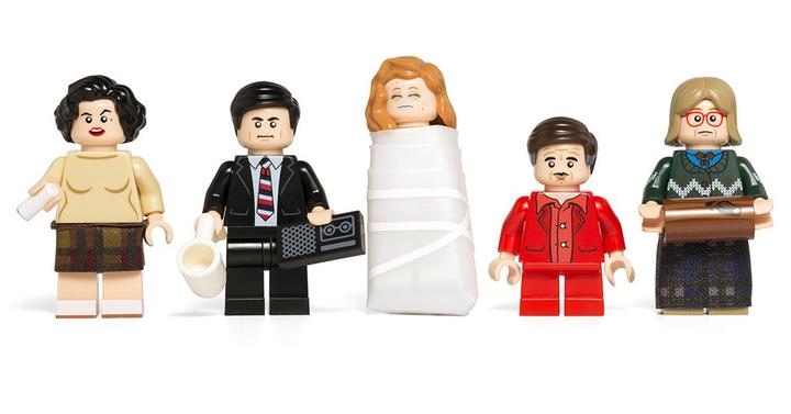 Nem hivatalos LEGO Twin Peaks minifigurákat akarunk karácsonyra