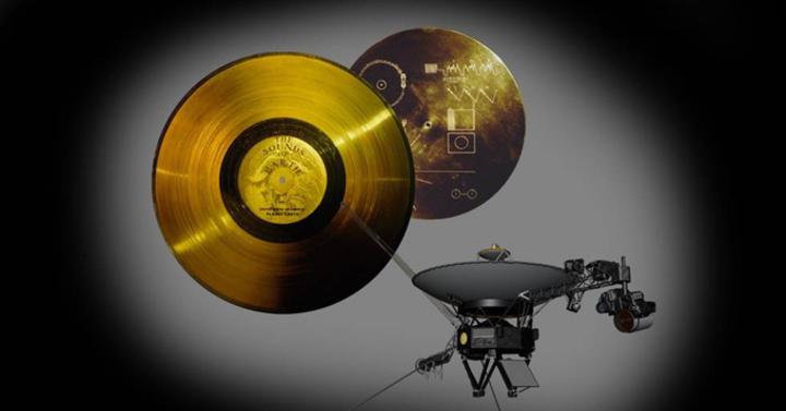 Kickstarteren a Voyager űrszondák kozmikus aranylemeze