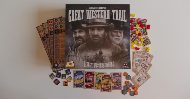 Great Western Trail (A nagy western utazás) társasjáték-kritika