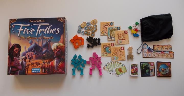 Five Tribes társasjáték-ajánló