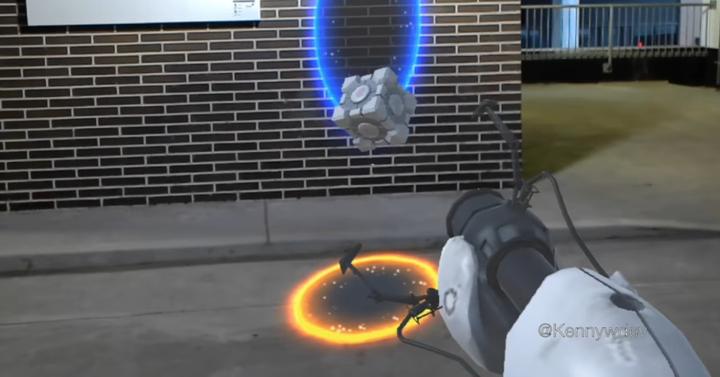 Így lehet Portalt játszani a való világban