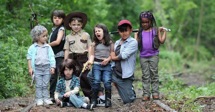 A The Walking Dead még soha nem volt ennyire cuki