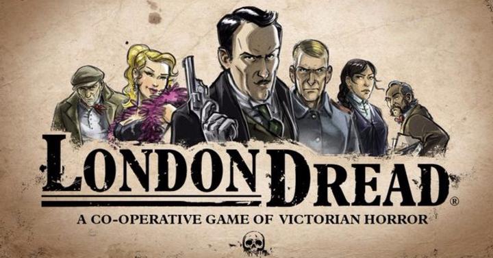 London Dread társasjáték - viktoriánus nyomozás