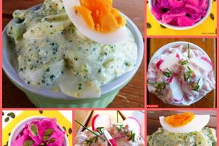 Top 3 saláta tavaszra