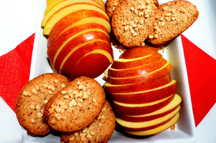 Fűszeres keksz ropogós mandulával