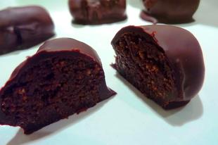 Csokis-mézeskalácsos cukormentes szaloncukor