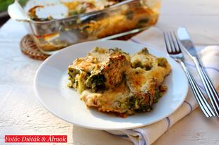 Szuper csőben sült sajtos brokkoli