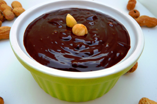 Selymesen gazdag házi csokoládépuding