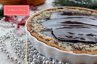 Sütőtökös-cukkinis-csokis tarte