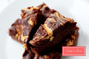 Mogyorós-sütőtökös brownie: az ősz csábítása liszt nélkül