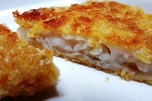 Ropogós rántott hal a sütőből