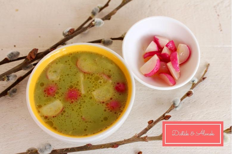 Medvehagyma leves vajban sült retekkel szénhidrát diéta cukorbetegség inzulinrezisztencia