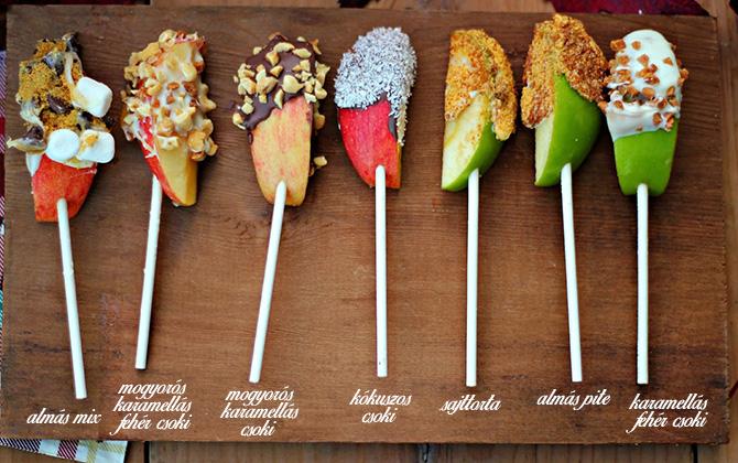 egészséges mikulás csomag csoki alma