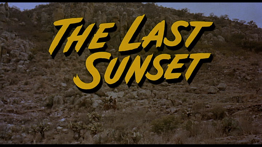 Az utolsó napnyugta (The Last Sunset, 1961)