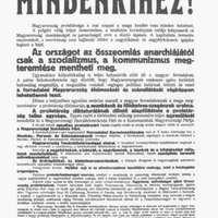 1919. március 21. – Átadta-e a hatalmat Károlyi a kommunistáknak?
