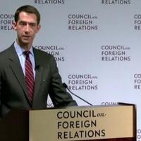 Beszélgetés az Iráni Nukleáris Egyezmény kapcsán Tom Cotton szenátorral