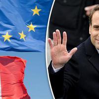 A kétarcú Emmanuel Macron