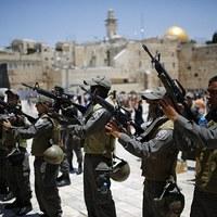 Katonai zár alatt Kelet-Jeruzsálem negyedei