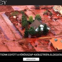 Segítsünk együtt a vörösiszap-katasztrófa áldozatainak!