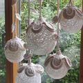 inspiráció csipkelámpa dekorációhoz