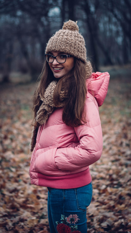 A rózsaszín, H&M kabát lassan 15 év elteltével is remek állapotban van. Fotó: Urbancsók Pictures