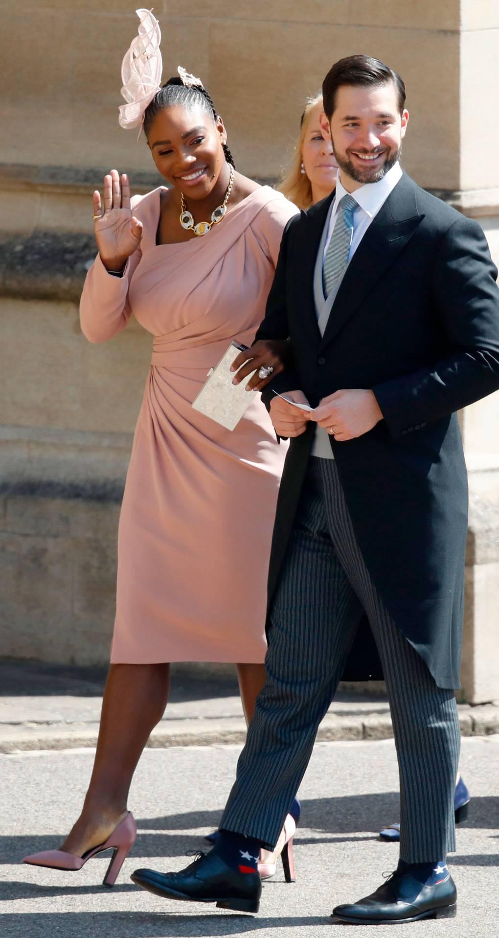 Serena Williams és Alexis Ohanian, forrás: vogue.co.uk