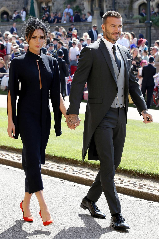 Victoria és David Beckham, forrás: vogue.co.uk