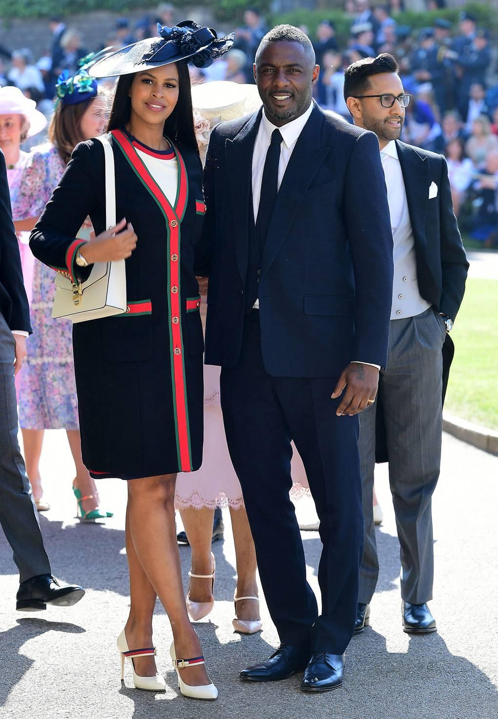 Idris Elba és Sabrina Dhowre, forrás: vogue.co.uk