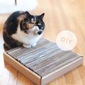 Kaparómatrac cicáknak olcsón, DIY