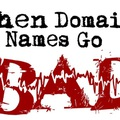 Félresiklott domain nevek