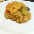Zöldséges risotto