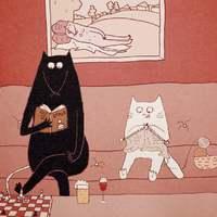Egy punk patkány és egy pedáns kiscica hétköznapi élete