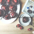 DRKONYHART: EPRES-CSOKOLÁDÉS MUFFIN (Muffin with fresh strawberry and dark chocolare)