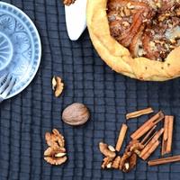 DRKONYHART: FŰSZERES KÖRTE TORTÁCSKA (Spiced pear tart)