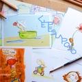 KÉPESLAPOZÓ: AGÓCS ÍRISZ BÁJOS LAPJAI (Charming postcards by Írisz Agócs)