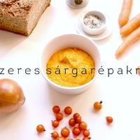 DRKONYHART: FŰSZERES SÁRGARÉPAKRÉM (Spicy carrot cream)