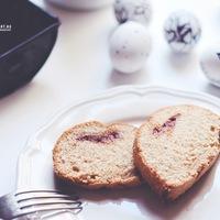 DRKONYHART: GYORS PÜSPÖKKENYÉR ALMACSÍKKAL (Loaf with apple puree)