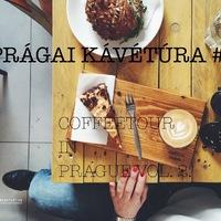 DRÚJHULLÁM: PRÁGAI KÁVÉTÚRA MÁSODIK FELVONÁS (My second private coffee tour in Prague)