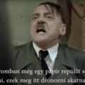 Videó szatíra Hitlerrel a magyar drón helyzetről