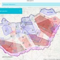 Online térkép a légtérhasználatról