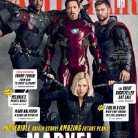 Marvel Filmes Univerzum - Vanity Fair borítók + képek