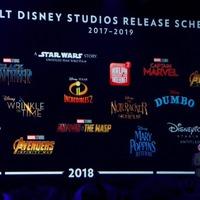 A Disney mozis tervei 2017-től 2019-ig