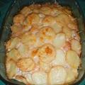 Csirkés-tejszínes rakott krumpli