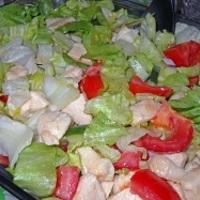 Csirkés cézár saláta, kissé magyarosan
