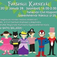 Meghívó: Farsangi Karnevál